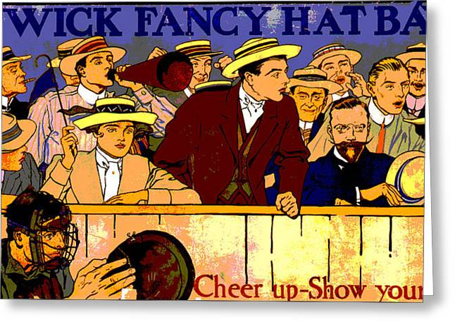 Hat Bands Greeting Card by Charles Shoup