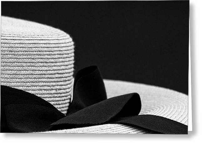Hat Greeting Card by John Hermann
