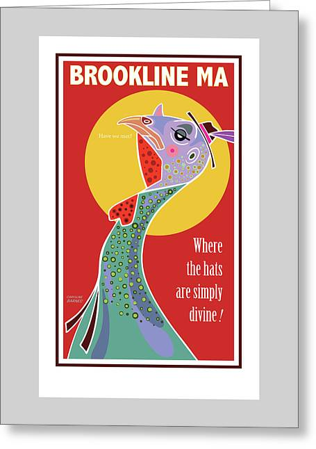Do You Like My Hat? Greeting Card