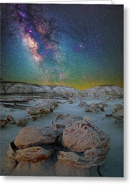 Hatched By The Stars Greeting Card
