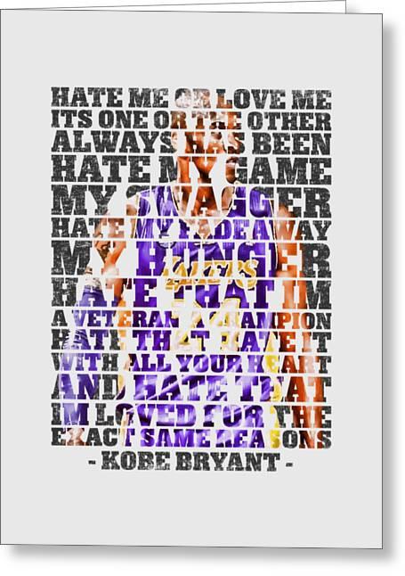Hate Me Greeting Card by Iman Cruz