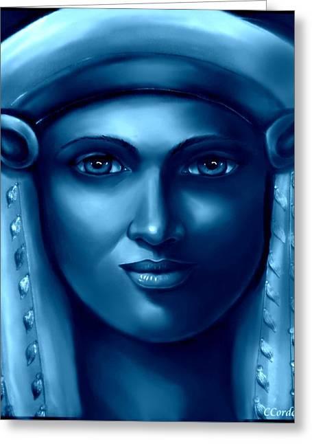 Hathor -the Goddess 2 Greeting Card