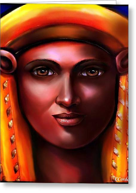 Hathor- The Goddess Greeting Card