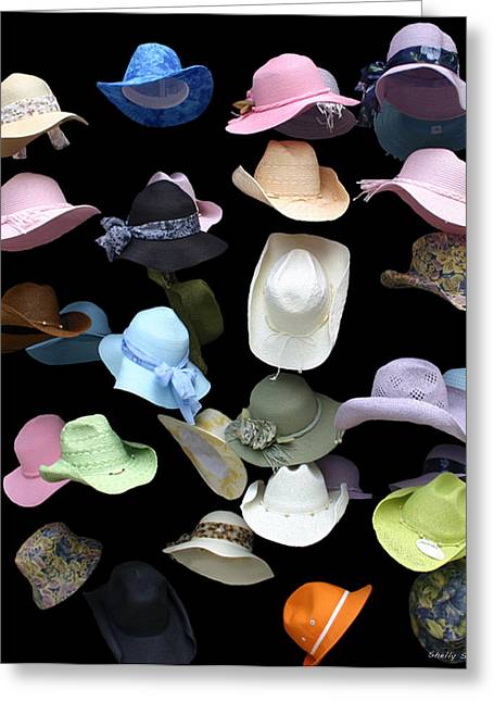 Hats Off Greeting Card