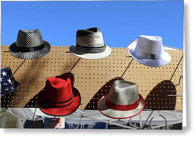 90ebb671bbf Hats Selection Day Dead Greeting Card Hats Selection Day Dead. Chuck Kuhn