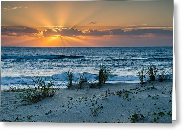 Hatteras Dawn Greeting Card by Eric Albright