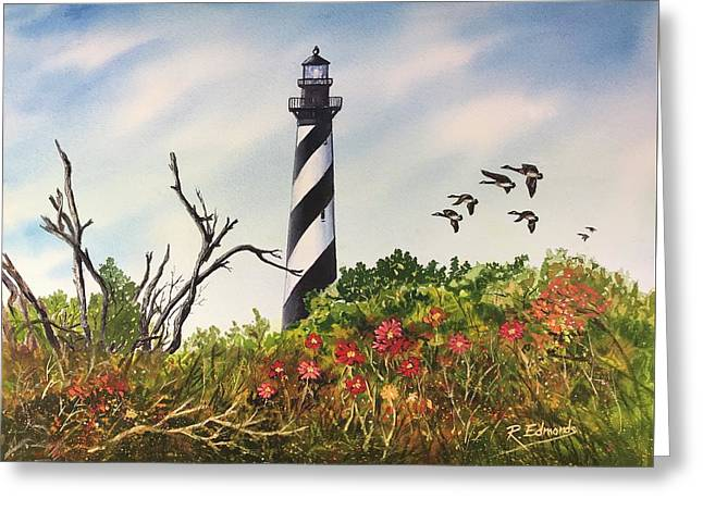 Hatteras Light  Greeting Card