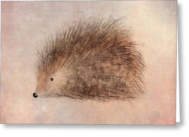Hattie Hedgehog  Greeting Card