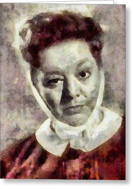 Hattie Jacques, Carry On Actress Greeting Card
