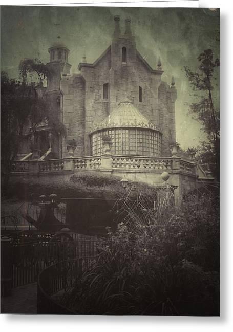Haunted Mansion Greeting Card by Kenneth Krolikowski