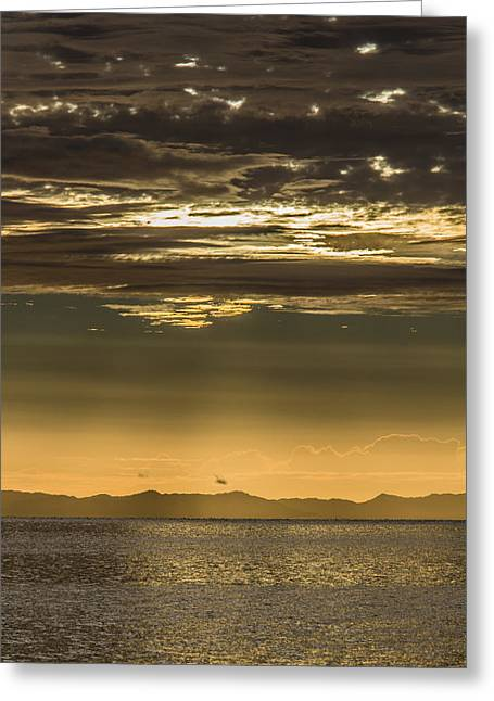 Hauraki Gulf At Sunrise Greeting Card