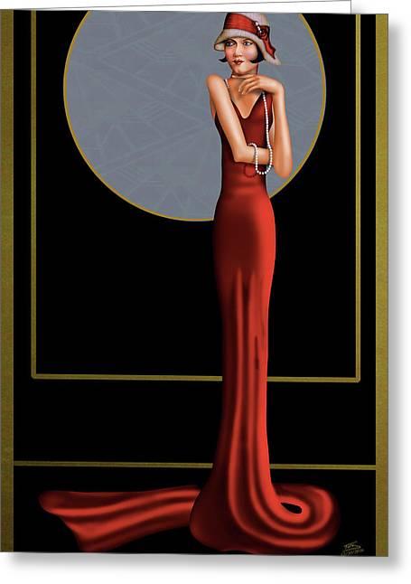 Hauteur Elegance Greeting Card