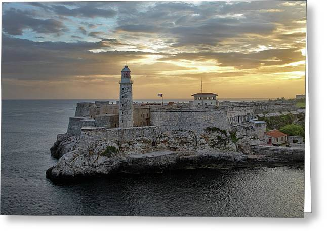 Havana Castillo 2 Greeting Card