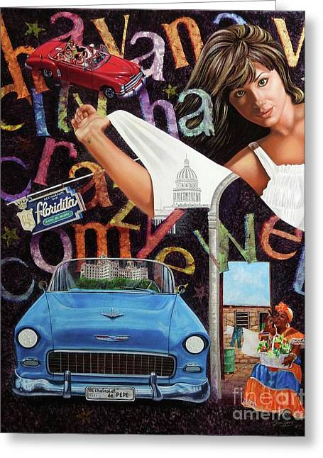 Havana City Greeting Card