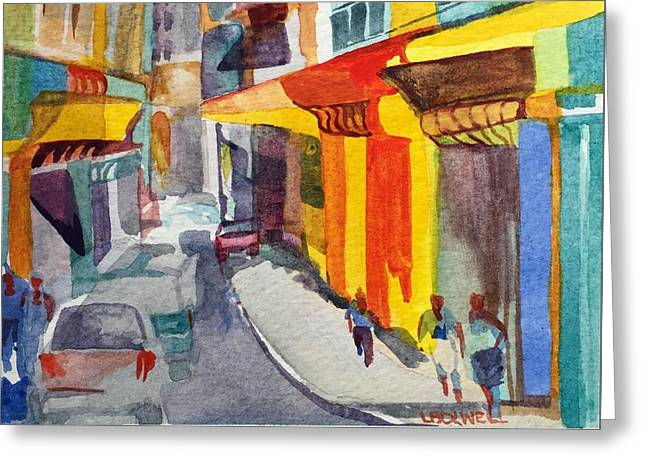 Havana Colors Greeting Card