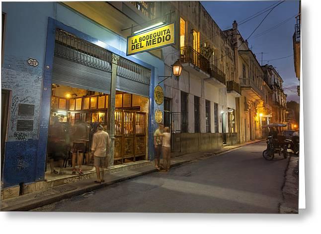 Havana Cuba 9 Greeting Card