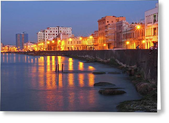 Havana Lights Greeting Card