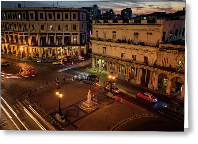 Havana Nights Greeting Card