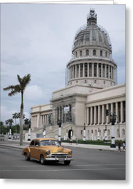 Havana Street, Study I, Cuba Greeting Card