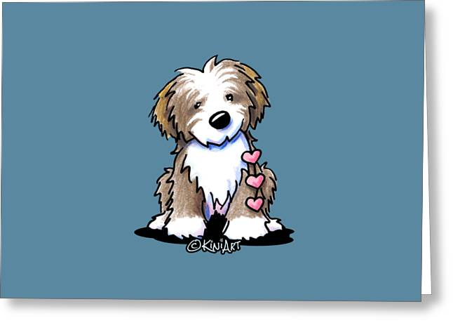 Havanese Heartstrings Greeting Card