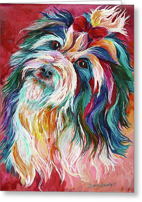 Havanese Greeting Card