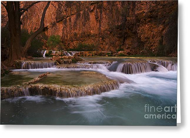 Havasu Creek Grand Canyon 1 Greeting Card