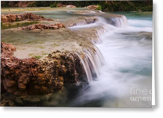 Havasu Creek Grand Canyon 12 Greeting Card by Bob Christopher