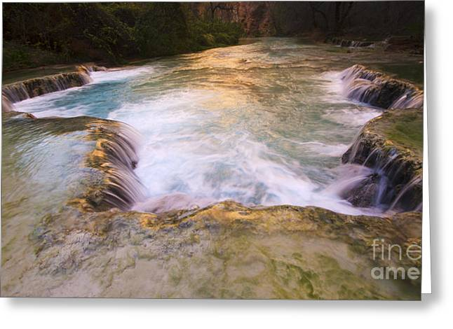 Havasu Creek Grand Canyon 8 Greeting Card