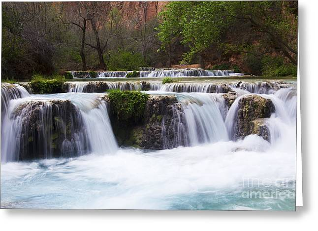 Havasu Falls Grand Canyon 12 Greeting Card