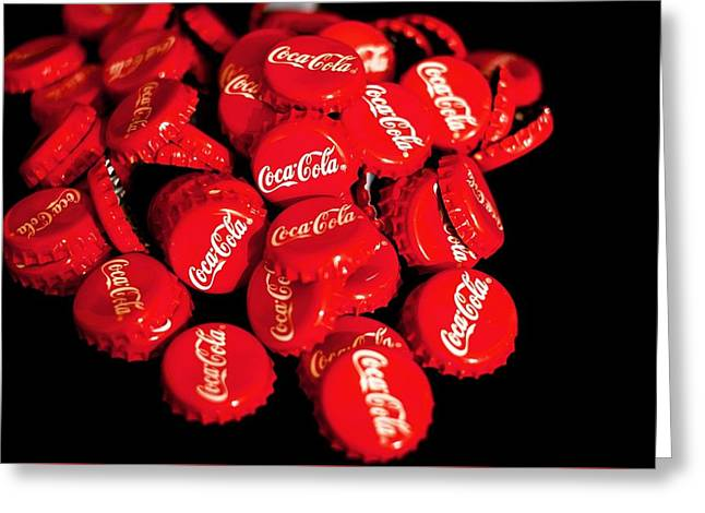 Have A Coke And A Smile Greeting Card by Cco