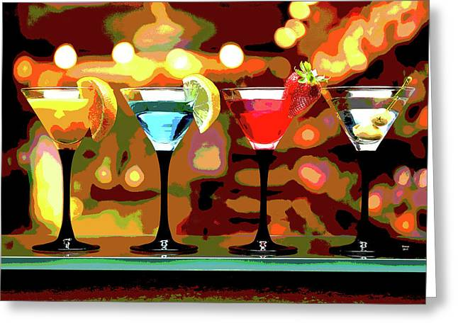 Have A Drink Greeting Card