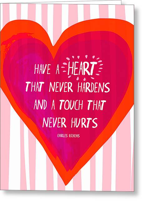 Have A Heart Greeting Card by Lisa Weedn