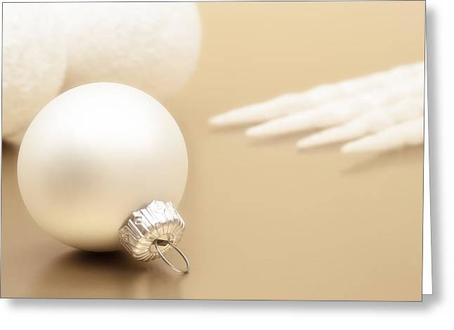 Have A White Christmas Greeting Card by Wim Lanclus