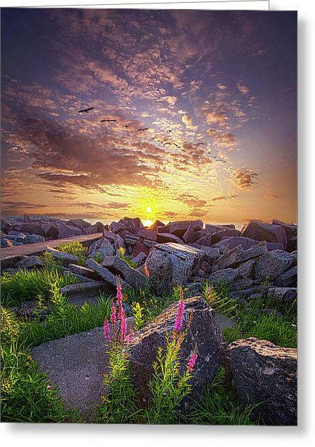 Greeting Card featuring the photograph Have Faith by Phil Koch