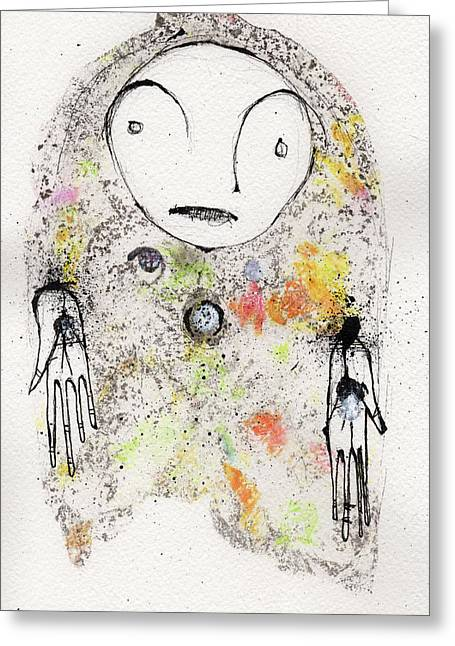 Have Not Got Any Answers Other Than The Ones I Know Are Wrong Greeting Card by Mark M  Mellon