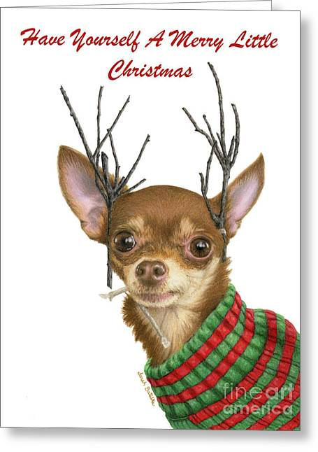 Have Yourself A Merry Little Christmas Cards Greeting Card
