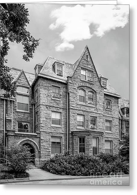 Haverford College Barclay Hall Greeting Card by University Icons