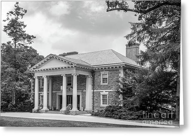 Haverford College Roberts Hall Greeting Card by University Icons