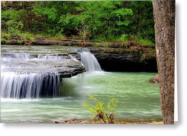Haw Creek Falls Greeting Card by Marty Koch