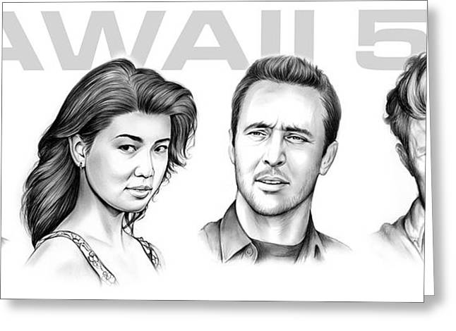 Hawaii 5 0 Greeting Card by Greg Joens