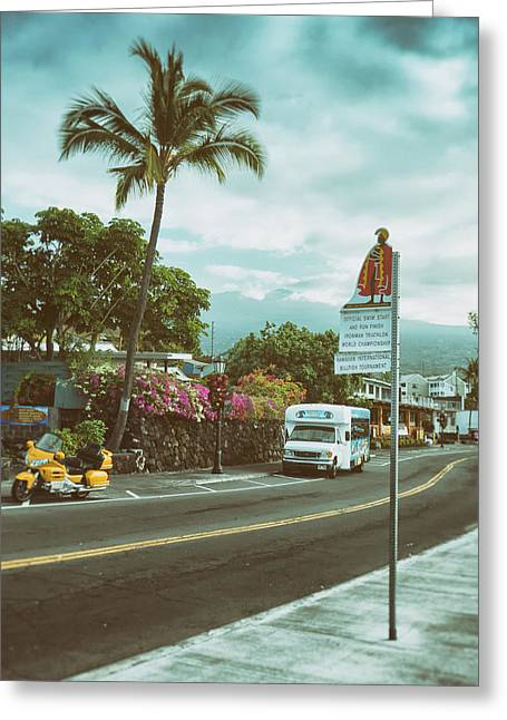 Hawaii Ironman Start Point  Greeting Card