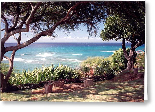 Hawaii Greeting Card by Lori Mellen-Pagliaro
