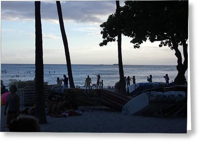Hawaiian Afternoon Greeting Card