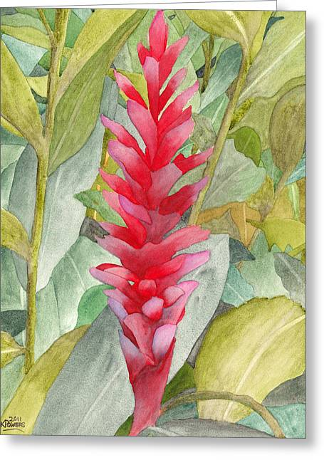 Hawaiian Beauty Greeting Card