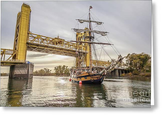 Greeting Card featuring the photograph Hawaiian Chieftain   by Charles Garcia