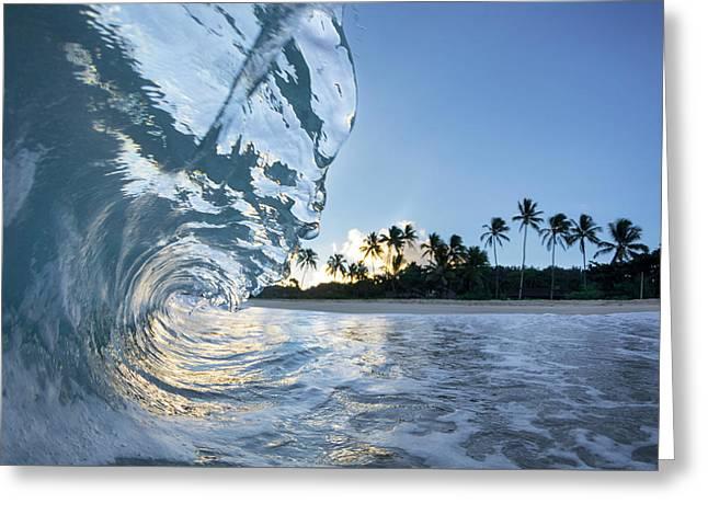 Hawaiian Crystal Greeting Card