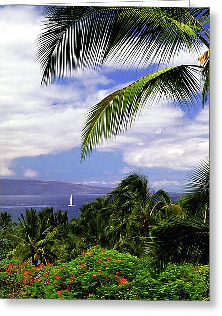 Hawaiian Fantasy Greeting Card