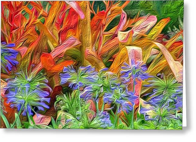 Hawaiian Flowers Greeting Card by Paige Harre