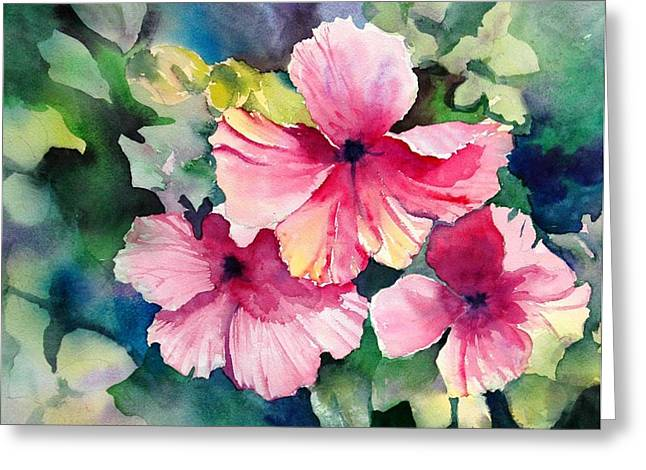 Hawaiian Hibiscus Greeting Card