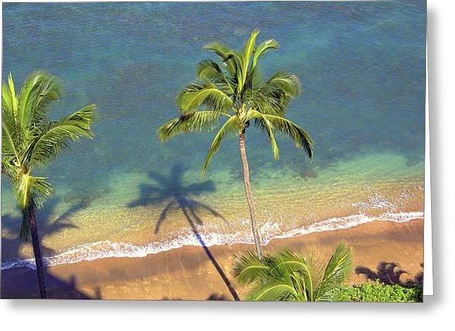 Hawaiian  Greeting Card by Kathy Bassett